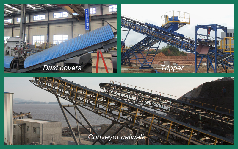 Belt conveyor options