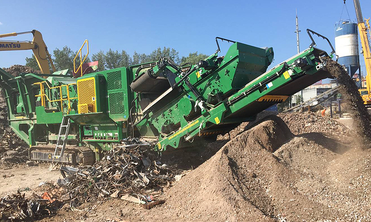 Construction waste recycling