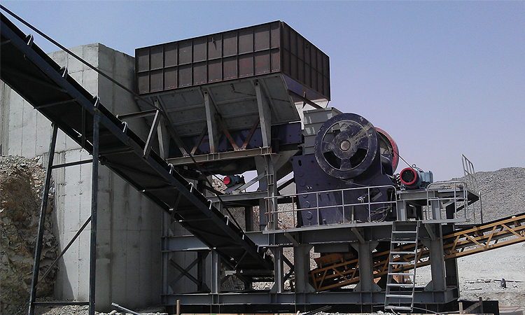 Crushing plant in India