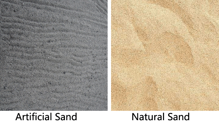 Artificial Sand vs Natural Sand