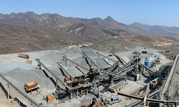 600t/h Aggregate Production System